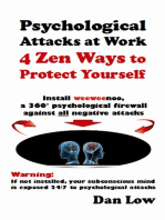 Psychological Attacks At Work