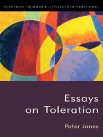 Essays on Toleration