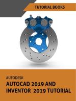 Autodesk AutoCAD 2019 and Inventor 2019 Tutorial