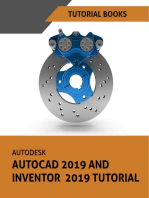 Autodesk AutoCAD 2019 and Inventor 2019 Tutorial