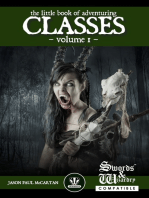 The Little Book of Adventuring Classes Vol. 1