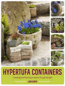 Hypertufa Containers: Creating and Planting an Alpine Trough Garden