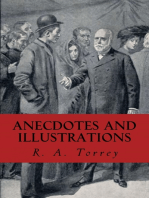 Anecdotes and Illustrations