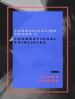 Communication Tricks II