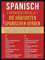Spanisch ( Spanisch Für Alle ) Die Häufigsten Spanischen Verben