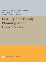 Fertility and Family Planning in the United States