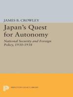 Japan's Quest for Autonomy