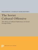 Soviet Cultural Offensive