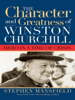 Character and Greatness of Winston Churchill