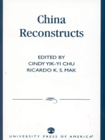 China Reconstructs
