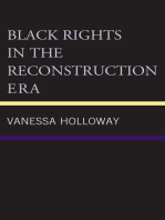 Black Rights in the Reconstruction Era