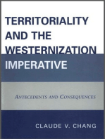 Territoriality and the Westernization Imperative