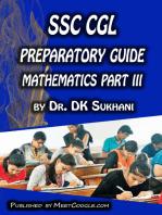 SSC CGL Preparatory Guide -Mathematics (Part 3)