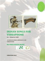 Indian Songs For Vibraphone