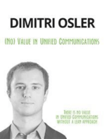 (No) Value in Unified Communications: There is no value in Unified Communications without a lean approach