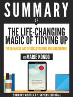 """Summary Of """"The Life-Changing Magic Of Tidying Up"""