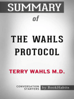 Summary of The Wahls Protocol by Terry Wahls M.D. | Conversation Starters
