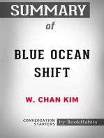 Summary of Blue Ocean Shift by W. Chan Kim | Conversation Starters