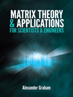 Matrix Theory and Applications for Scientists and Engineers