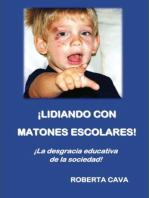 Lidiar con la intimidación escolar: ¡La deshonra educativa de la sociedad!