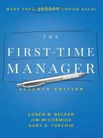The First-Time Manager