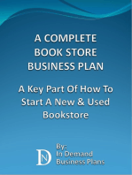 A Complete Book Store Business Plan