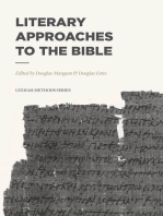 Literary Approaches to the Bible