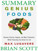 Summary Of Genius Foods by Max Lugavere