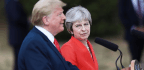 Trump Tries To Dispel Tension With Britain's May After Interview Criticizing Her Leadership