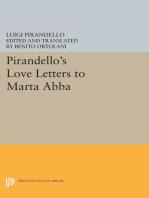 Pirandello's Love Letters to Marta Abba