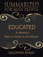 Educated - Summarized for Busy People