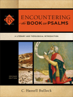 Encountering the Book of Psalms (Encountering Biblical Studies)