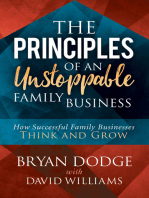 The Principles of an Unstoppable Family-Business