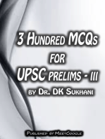 3 Hundred MCQs for UPSC Prelims: III