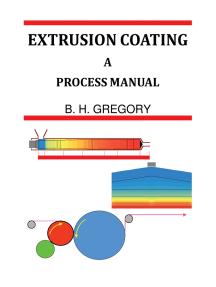 Extrusion Coating: A Process Manual