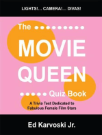 The Movie Queen Quiz Book: A Trivia Test Dedicated to Fabulous Female Film Stars