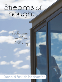 Streams of Thought: Aphorisms in Prose and Poetry