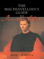 The Machiavellian's Guide to Insults