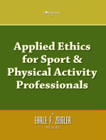 Applied Ethics for Sport & Physical Activity Professionals