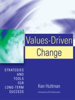 Values-Driven Change