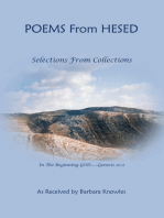 Poems from Hesed~ Selections from Collections