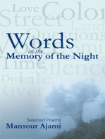 Words in the Memory of the Night