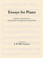 Essays for Piano