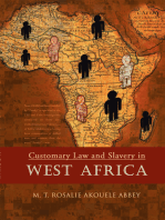 Customary Law and Slavery in West Africa