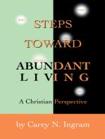 Steps Toward Abundant Living