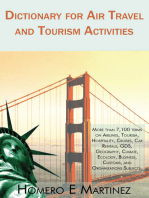 Dictionary for Air Travel and Tourism Activities