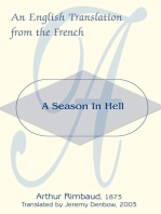 A Season in Hell: An English Translation from the French