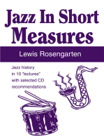 "Jazz in Short Measures: Jazz History in 10 ""Lectures"" with Selected Cd Recommendations"