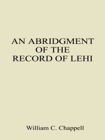 An Abridgment of the Record of Lehi
