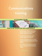 Communications training A Complete Guide